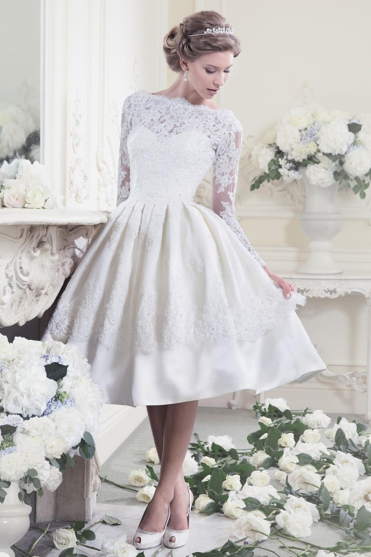 50s Style T Length Dress