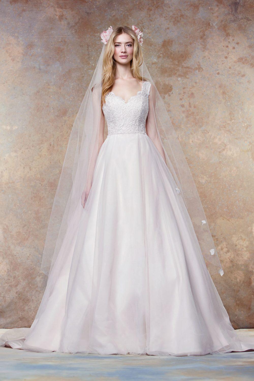 Scalloped A-line dress   style 11456